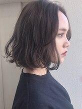 ヘアーデザイン シュシュ(hair design Chou Chou by Yone)☆chouchou☆ナチュラルボブ×ラベンダーアッシュ