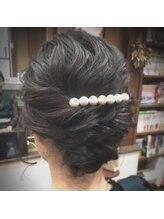 ヘア ロココ(hair LOCOCO)およばれヘアセット