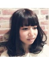 ヘアスタジオ シエル(Hair Studio Ciel)甘めのナチュラルボブ