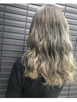 ノル(nol hair&spa)ホワイトミルクティーベージュ