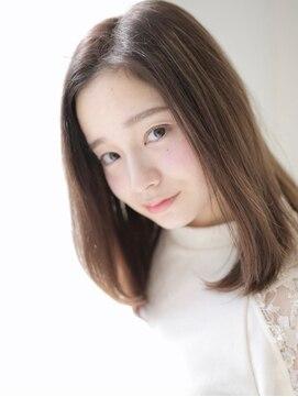 アグ ヘアー シルエ 和泉府中店(Agu hair silje)うるさらストレートはツヤと質感◎