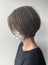 ナチュラル ヘアーデザイニング(Natural hair designing)#今泉ショート ショートとボブの間