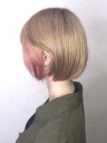 ソース ヘアアトリエ 梅田(Source hair atelier)【SOURCE】インナーピンク