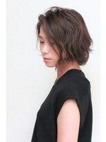 フィルヘアー(fil hair)アッシュグレージュ&ラフ艶感