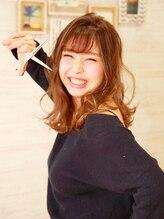 ヘアーアンドネイルサロンブルー(hair & nail salon BLUE)小野 沙織