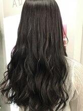 ポルト(Porte)暗髪にも透明感を。ダークアッシュグレー