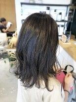 アミィヘアー(Ami Hair)表面縮毛矯正×セミロングレイヤー