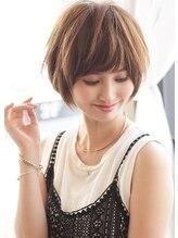 アグ ヘアー リング 花園店(Agu hair ring)《Agu hair》大人かわいい小顔丸みショート