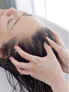 フランジパニ 鎌倉(frangipani)の写真/ダメージ回復率140%!頭皮と髪の内部から根本改善!業界最高峰のスペシャルトリートメントに注目度大★