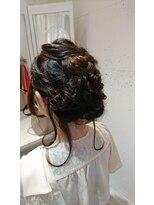 ヘアー カラー キー(HAIR color KEY)おでかけヘアセット