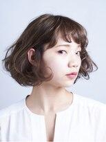 サラビューティーサイト 志免店(SARA Beauty Sight)ふんわりカールのフレンチボブ