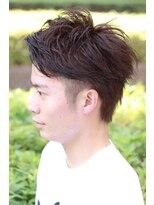 レッドネオ エビス(Redneo ebisu)アップバングツーブロックショートヘア