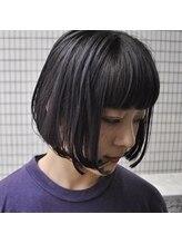 ピース(Hair Atelier P's)パープルグレーカラー