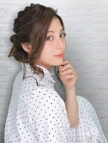テラスラックスビー 阿倍野アポロ店(TERRACE LUXBE)リボンアップアレンジ