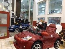 カリーナ 焼津店(Carina)の雰囲気(子供用の車の椅子あります!赤ちゃん筆もやってます)