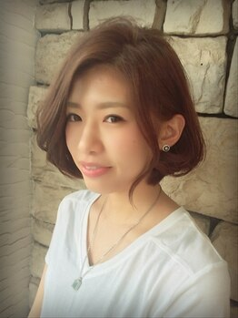 """ルーチュヘアー(Lu cu hair)の写真/丁寧なカウンセリングで、あなたの""""似合う""""を一緒に探します!どこから見てもキレイな仕上がり☆"""