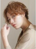 キース ヘアアンドメイク(kith. hair&make)恵比寿kith.本田× エアリーショート クラウドマッシュ 小顔