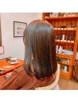 ミーノ(mieno)【髪質改善】モテ愛され艶髪ストレート【自由が丘/目黒区】