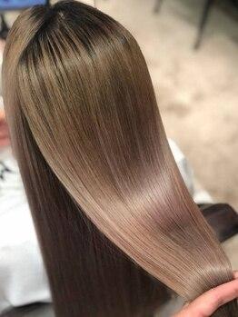 アイル(I'll)の写真/多数ある髪質改善の中でも最新のケラ熱トリートメント。感じたことのない素髪を再現します。