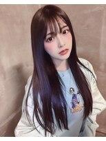 【アンク渋谷 齋藤優】まるりちゃんパープルブラウン