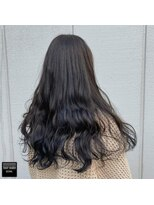 ヘアメイクミワ(HAIR+MAKE MIWA) navy×black navy
