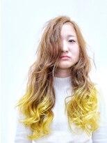 マグネット ヘアー 段原店(MAGNET HAIR)イエローカラー