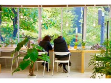 ブロッコリーヘアー(BROCCOLI HAIR)の雰囲気(広くてカフェのようなお洒落な自由席★)
