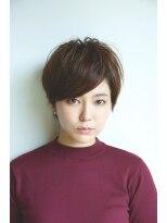 ギフト ヘアー サロン(gift hair salon)縦長シルエットが決め手のショートボブ(熊本・通町筋・上通り)