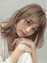 ミンクス 銀座五丁目店(MINX)【MINX河野】柔らかグレージュのベビーウルフ