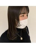 ヘアーアイストゥーレ(HAIR ICI TRE)レイヤースタイル 顔周り 顔周りレイヤー