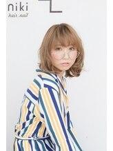 ニキ ヘアー ネイル(niki hair,nail)フレンチガーリー