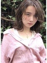 ヘアサロンエム 渋谷店(HAIR SALON M)ミディアム×レイヤー