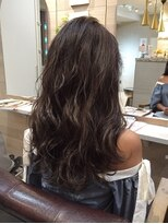 オーブ ヘアー アオヤマ 青山店(AUBE HAIR AOYAMA)色っぽいブラウン♪くしゅっとパーマ