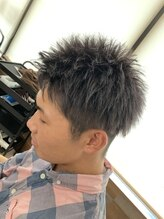 ヘアーメイク シャンプー(hair make shampoo)濃いめシルバー
