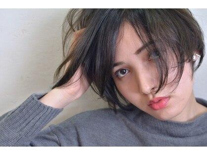 マーブル ヘアー(marble hair)の写真