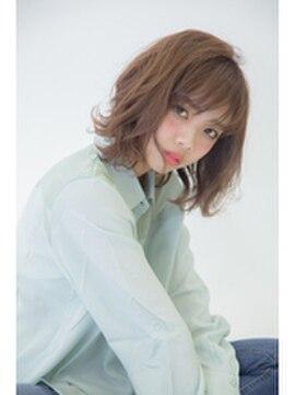 セシルヘアー 広島駅前店(Cecil hair)暗髪フェザーカール×アディクシーカラーでワンランクUP☆