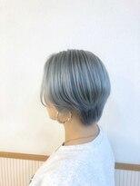 カノア(Canoa)bleach+blue silver