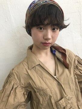 シーク(seek)【seek菜月】ショートスカーフアレンジ