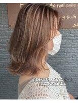 ヘアアンドビューティー クローバー(Hair&Beauty Clover)ベージュブラウン