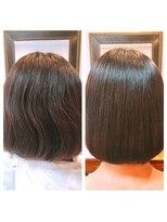 ミーノ(mieno)【髪質改善】お手入れ楽チン◎まとまるツヤ髪に【自由が丘】