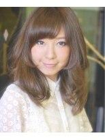 This collection SEMILONG☆顔周りの毛束がポイントで可愛い☆