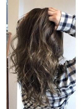 ルーチュヘアー(Lu cu hair)の写真/なりたいイメージに合わせあなたに似合うをご提案♪艶感溢れるトレンドカラーもお任せ!理想の最旬カラーを