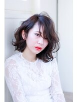 イロドリ ヘアーデザイン(IRODORI hair design)IRODORI 大人かわいい♪伸ばしかけミディ [西尾一寛]