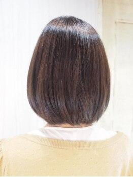 ヘア レスキュー カプラ(hair rescue kapra)の写真/【オリジナルMENU】ボブスタイルやショートスタイルも自然に仕上がる『デザイン縮毛矯正』が大人気!