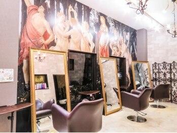 ロイス ヘアー(ROIS hair)の写真/店内に入った瞬間から、特別なひと時を―。豪華で贅沢な空間と時間を、あなただけに…【ROIS hair】