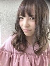 ヘアーデザイン シュシュ(hair design Chou Chou by Yone)☆chouchou☆透け感ミルクティーアッシュ