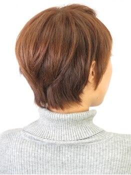タビアカラーの写真/【西区カラー専門店】髪に優しくダメージレス◎髪を労りながらオシャレヘアを楽しめる☆