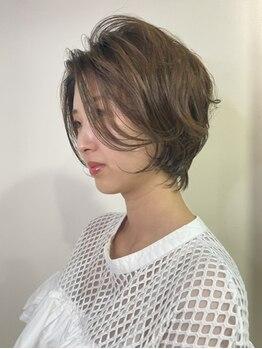 ステラ ヘア モード(Stella hair mode)の写真/【鈴蘭台】気になる白髪はしっかりカバー◎つい触れたくなる潤い&艶感たっぷりの暗すぎないお洒落Hairに♪