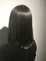 ヘアサロン レア(hair salon lea)【LEA赤羽 東森】ソフトブルージュワンレンフェザーロング
