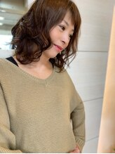 桜デコ ティンプル店(DECO)パーマプラスアイロンは普通の時代可愛いアラフォー女子